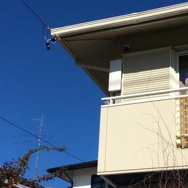 地デジアンテナ復旧工事浜松市天竜区K様邸の施工後写真(0枚目)