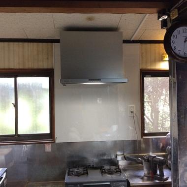 レンジフード更新工事磐田市M様邸の施工後写真(0枚目)
