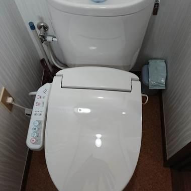 トイレ交換工事の施工後写真(0枚目)