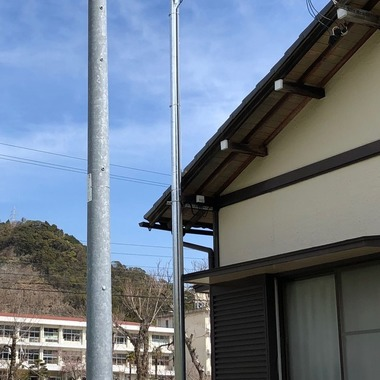 TVアンテナ工事 浜松市天竜区S様邸の施工後写真(0枚目)