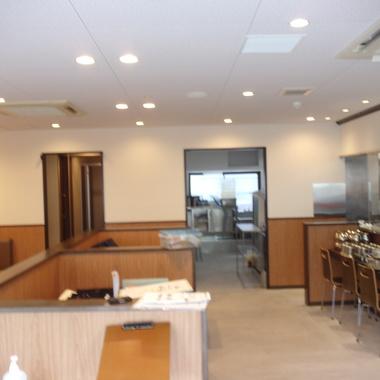 ラーメン店リニューアル工事の施工後写真(0枚目)