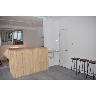 コーヒー店 店舗改修工事の施工後写真(0枚目)