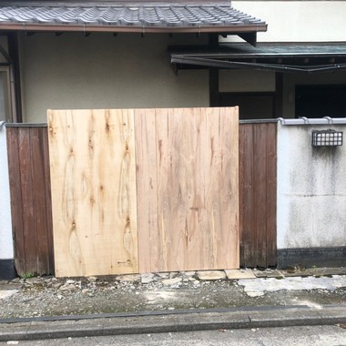 門扉補修工事の施工後写真(0枚目)