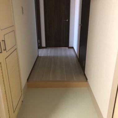 築30年の居住用マンションのリノベーション/リビングを広くとる(間取り変更)/東京都八王子市の施工後写真(0枚目)