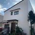 外壁塗装/東京都八王子市/オレンジ一色からツートンカラーへ変更の施工後写真(3枚目)