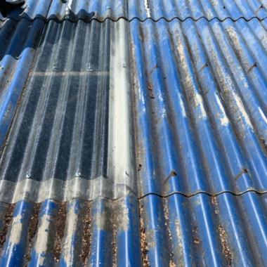 倉庫の屋根の修理の施工後写真(0枚目)
