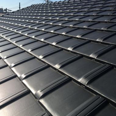 屋根の葺き替え工事の施工後写真(0枚目)