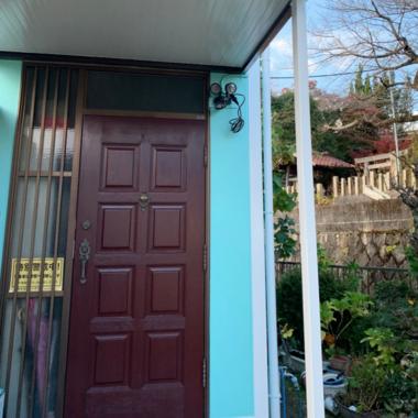 玄関ドア塗装の施工後写真(0枚目)