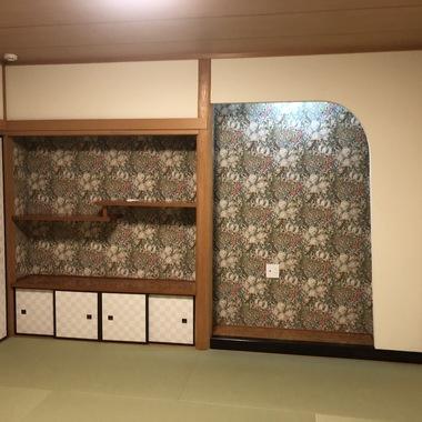 畳の作り替え➡ヘリなし畳への施工後写真(0枚目)