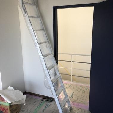 ロフト部分に取り外し可能な階段!の施工後写真(0枚目)