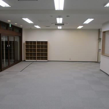 放課後デイサービスの新規内装工事の施工後写真(1枚目)