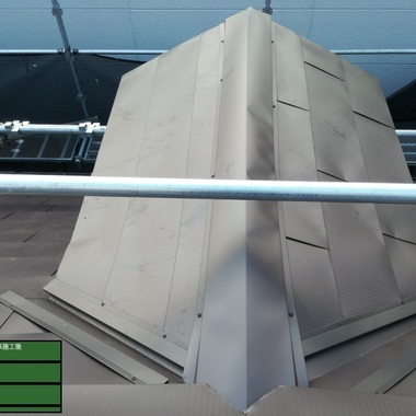 耐風で屋根(棟板金)が吹き飛んでしまったと緊急連絡を受けましたの施工後写真(0枚目)
