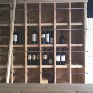 ワインショップ(バーも兼ねて)改装工事の施工後写真(3枚目)