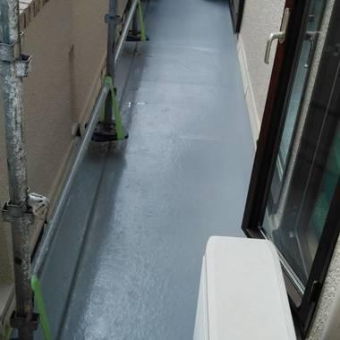 水戸市K邸外壁塗装工事の施工後写真(1枚目)