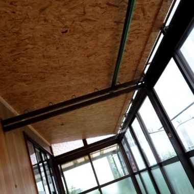サンルームの屋根が熱いのでふさぎたいの施工後写真(0枚目)
