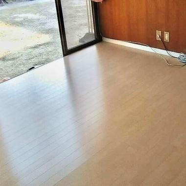 豊田市 床10帖リフォームの施工後写真(0枚目)