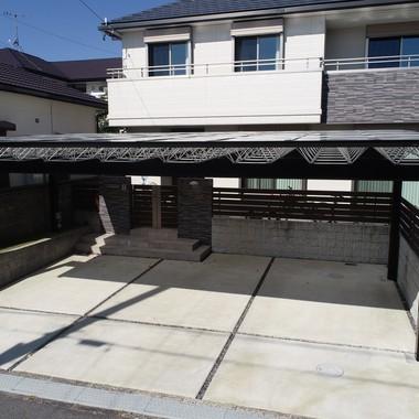 愛知県日進市 カーポートの設置の施工後写真(1枚目)