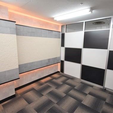 畳スペースのある事務所の内装工事の施工後写真(1枚目)
