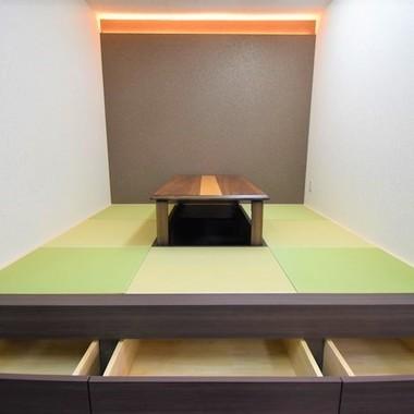畳スペースのある事務所の内装工事の施工後写真(3枚目)
