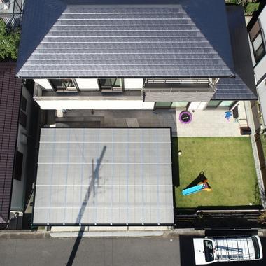 愛知県日進市 カーポートの設置の施工後写真(2枚目)