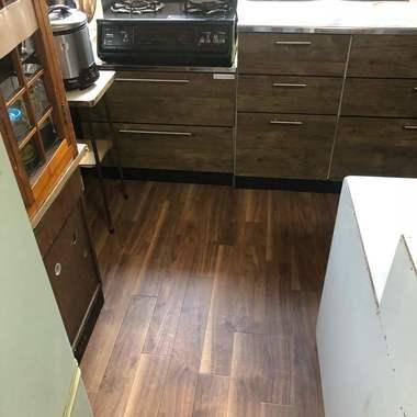 名古屋市南区 キッチンやダイニング床のリフォームの施工後写真(0枚目)