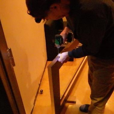 閉まらなくなったドアを取り替えました。の施工後写真(1枚目)