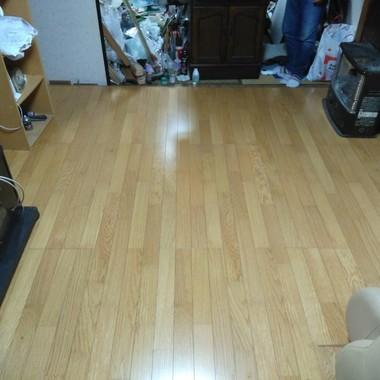 畳からフローリングにの施工後写真(0枚目)