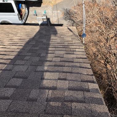 屋根カバー工事の施工後写真(1枚目)