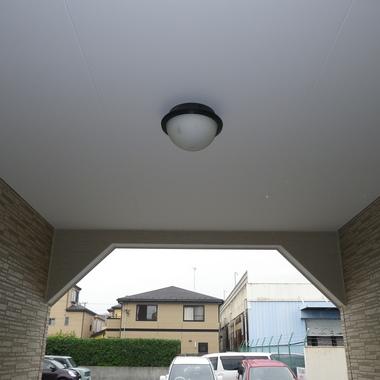 3F建て揺れを抑えるガレージ工事の施工後写真(1枚目)