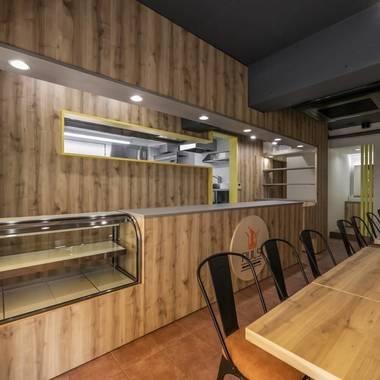 パスタ屋・イタリアン飲食店の内装工事の施工後写真(3枚目)