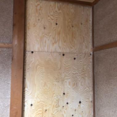耐震補強工事の施工後写真(1枚目)