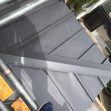 屋根葺き替え工事 完了 アップ画像