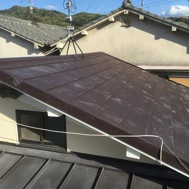 屋根葺き替え工事 完了