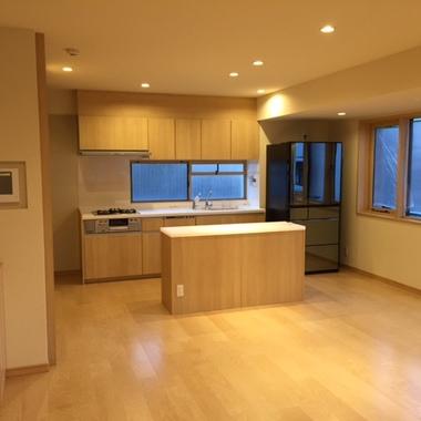 戸建住宅リフォーム 完了 キッチン
