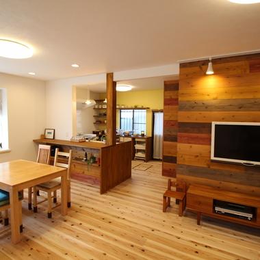 戸建住宅リノベーション 完了 LDK