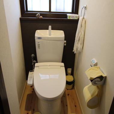 戸建住宅リノベーション 完了 トイレ
