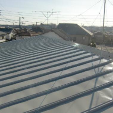 トタン屋根塗装 完了