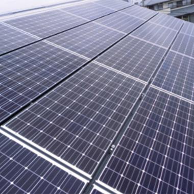 太陽光発電システム設置 完了 アップ画像