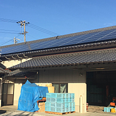 太陽光発電設置 完了