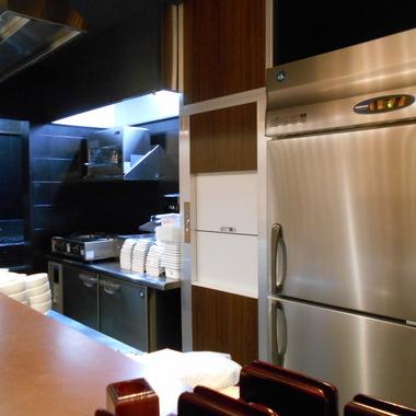 店舗改装工事 完了 キッチン