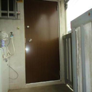 アパート 玄関ドア交換工事 完了