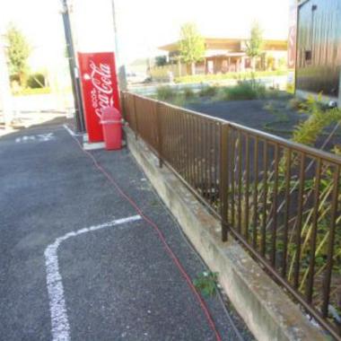 | フェンス修繕工事 完了