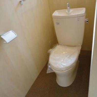 | トイレ改装工事 完了