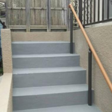   階段塗装工事 完了