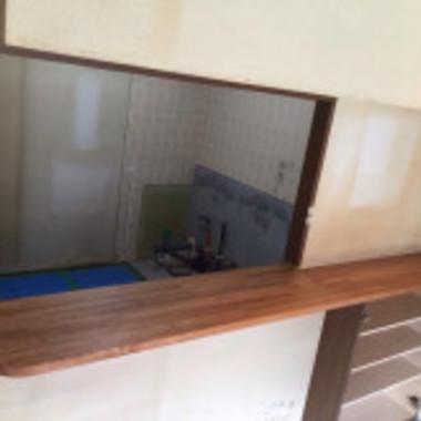 キッチンカウンター塗装 完了