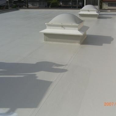 | 屋根塗装 完了