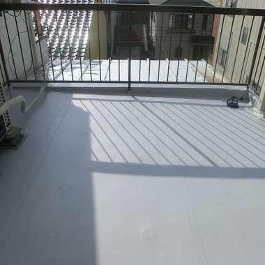 | 屋上シート防水作業 完了