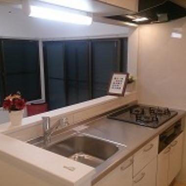 | 戸建住宅リフォーム完了 キッチン