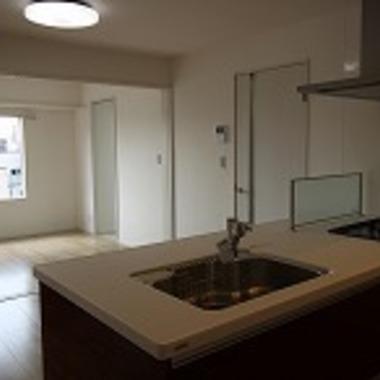| 戸建住宅リノベーション完了 キッチン