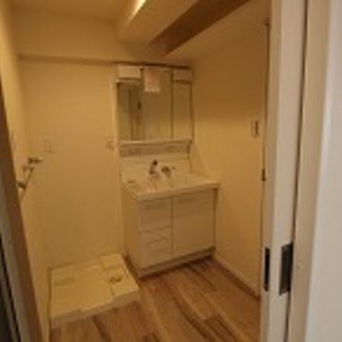 | 戸建住宅リフォーム完了 洗面所